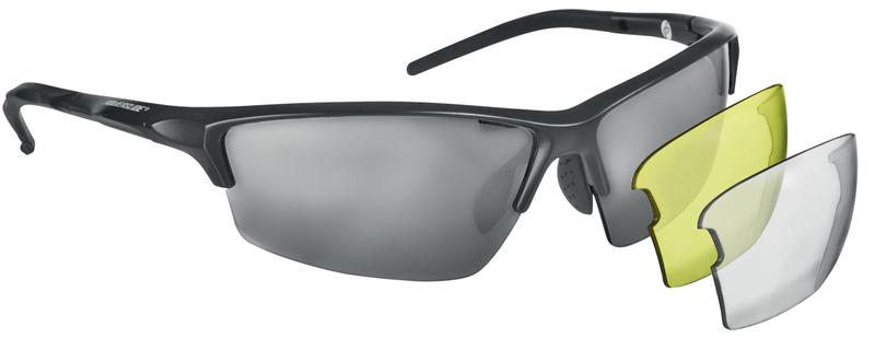 Core zonnebril zwart