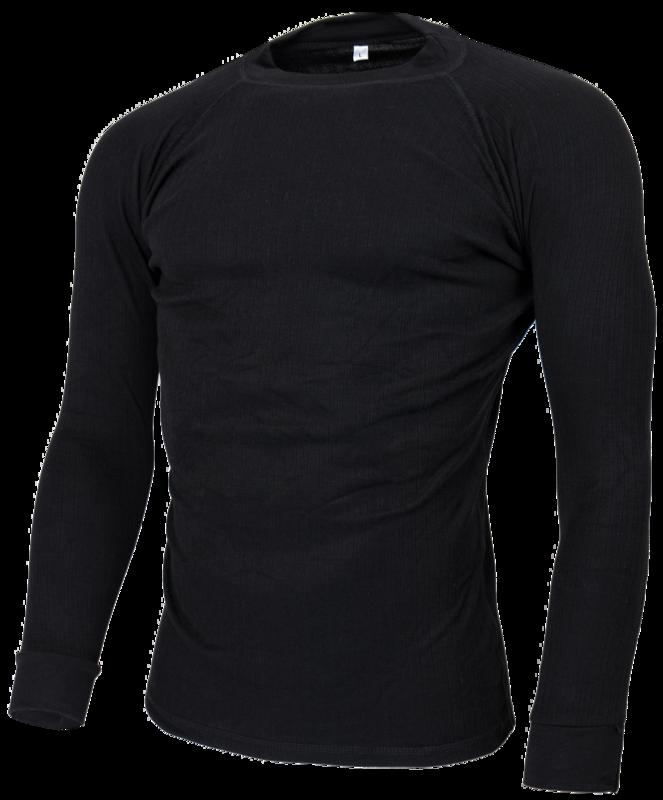Avento Thermoshirt Heren Zwart (lange mouw) 723