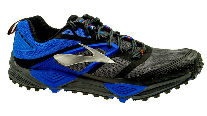 Cascadia 12 anthracite/electric blue/black