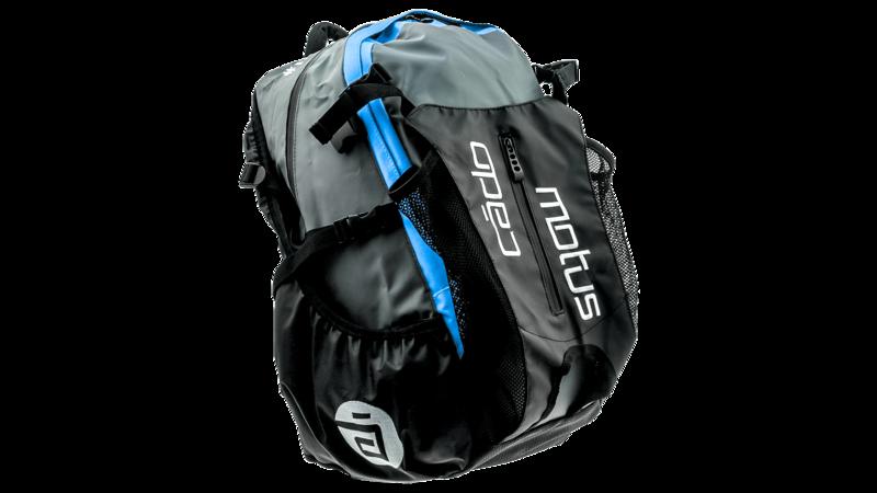 Cádomotus Waterflow gear skate skeeler bag - blue/grey