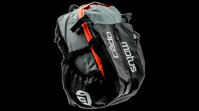 Cádomotus Waterflow gear skate skeeler bag - orange/grey