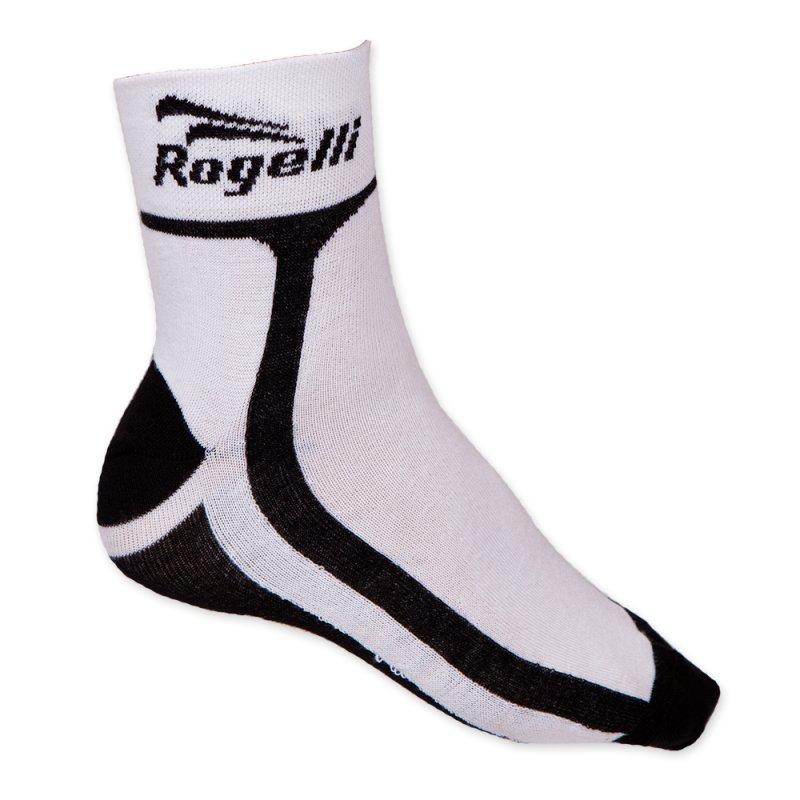 Rogelli Kinder sportsok RCS-03 wit/zwart