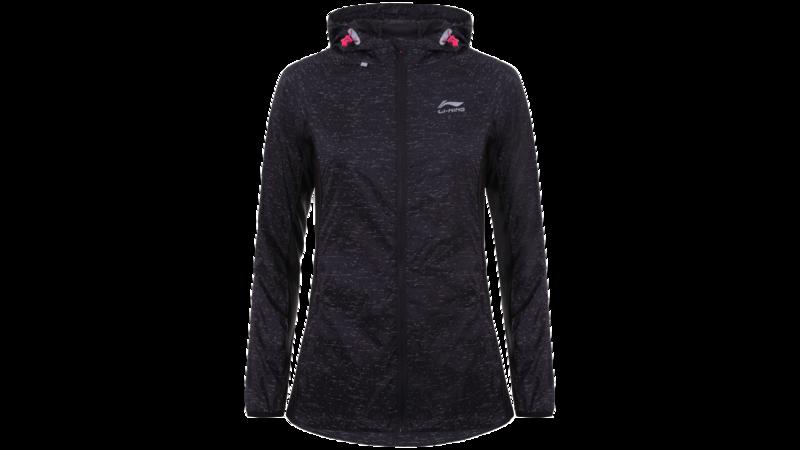 Women's running jacket - HARRIET [black]