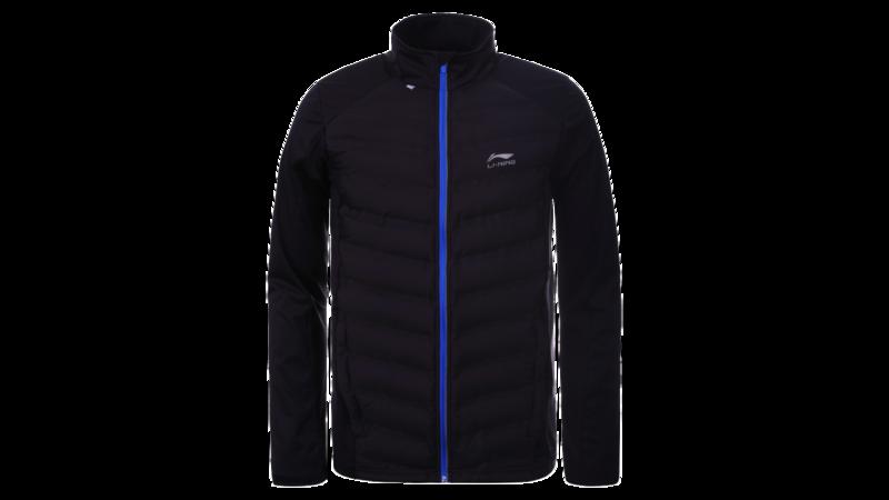Men's running jacket - HEIKKI [black]