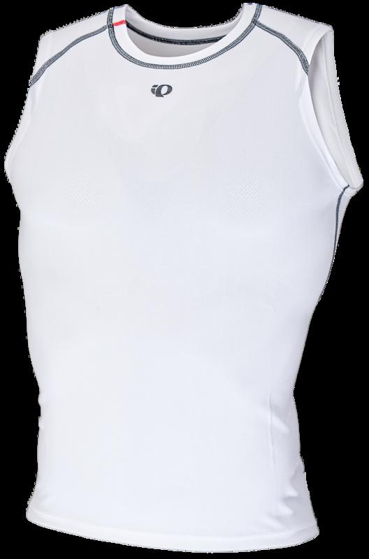 Pearl Izumi Ondershirt Transfer Baselayer Mouwloos Wit Women