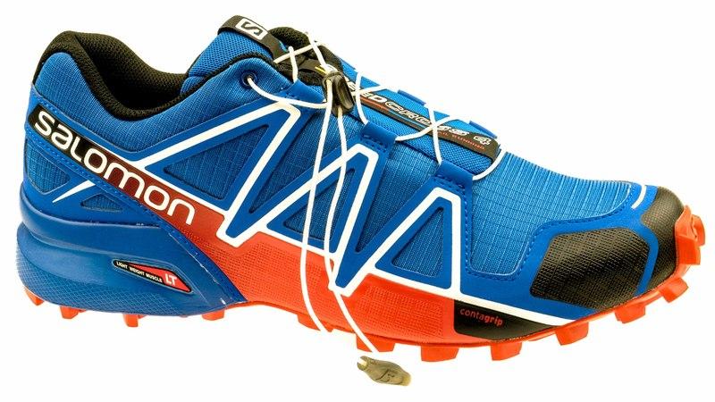 Speedcross 4 blue yonder/black/lava orange