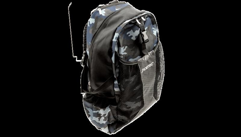 Icetec Schaats/Skeeler Rugzak Donker Blauwe Camouflage