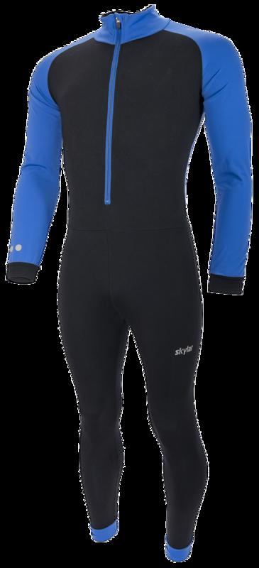 Skylar Marathon Thermo Pak Kuopio Kids zwart/blauw