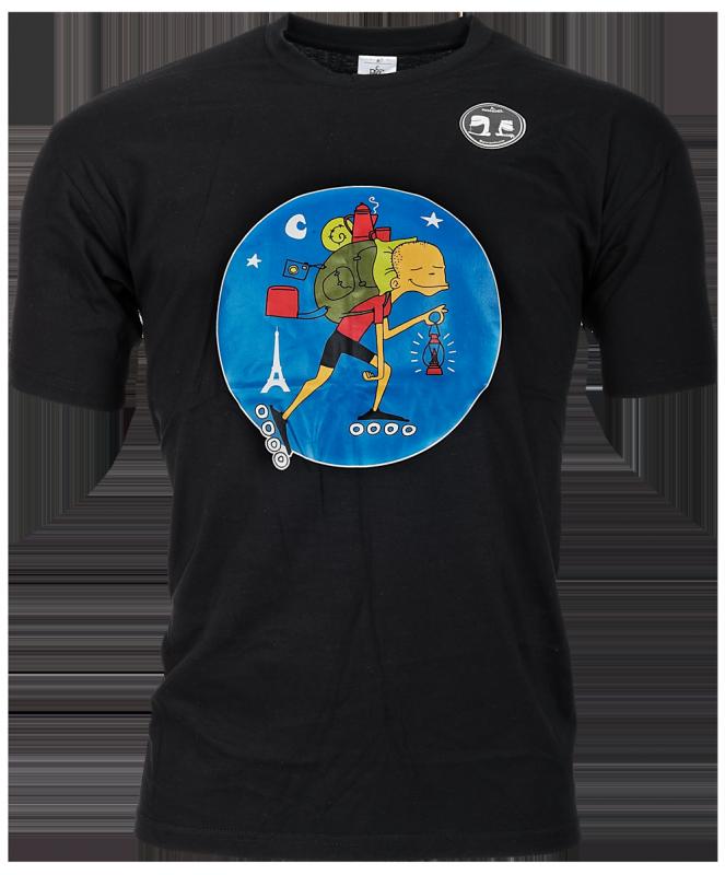 Skylar T- shirt Backpacker zwart