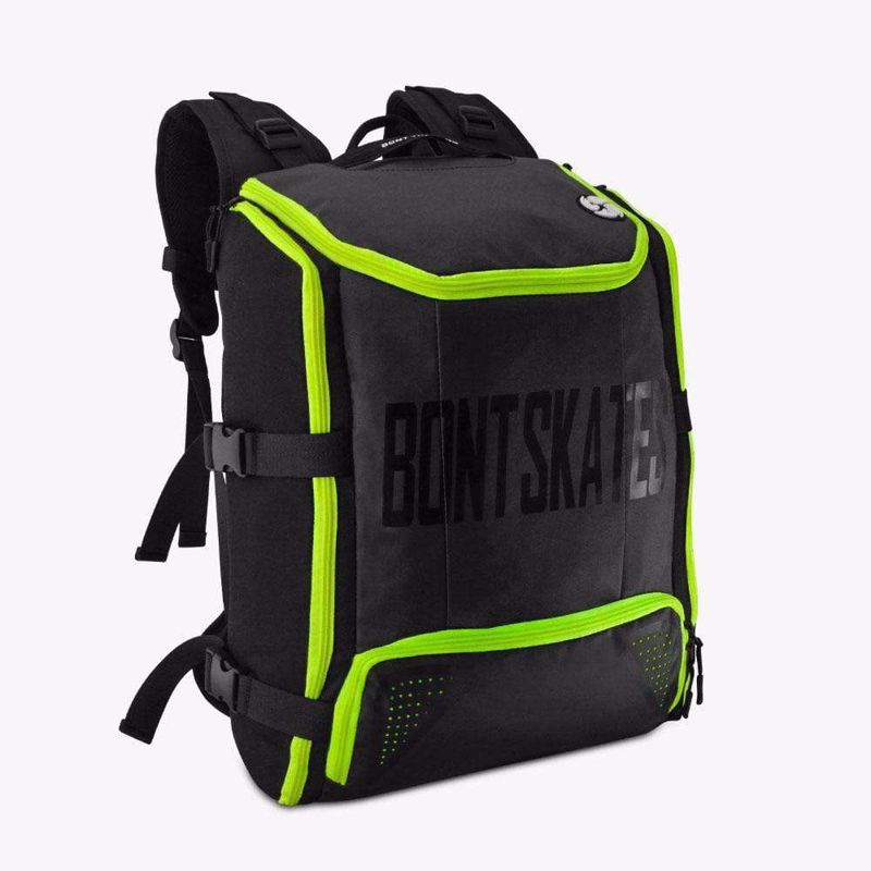 Bont Skate Backpack Black/Fluor Green