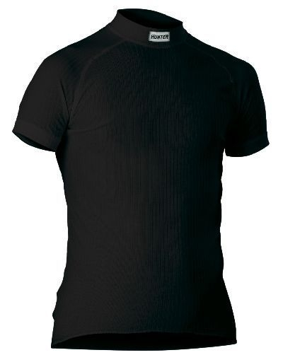 Hunter Shirt Korte Mouw zwart