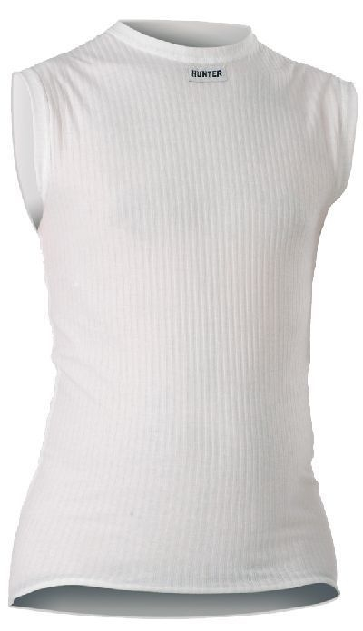 Hunter Shirt Mouwloos wit