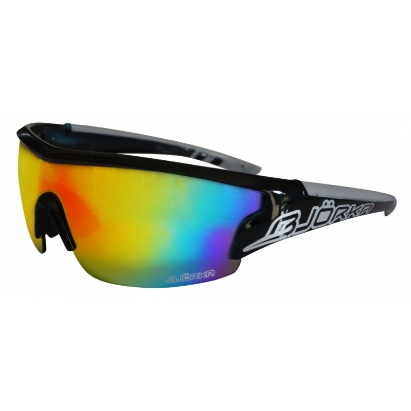 Bjorka FLASH zonnebril zwart/zilver