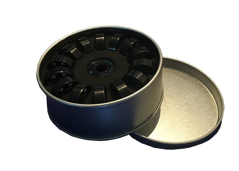 DoubleFF Swiss ceramic white ball bearings