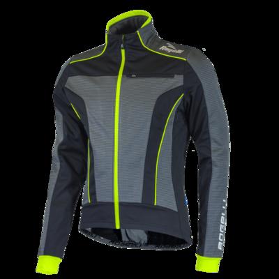 Winterjacket Trani 3.0 Black/Grey/Fluo yellow