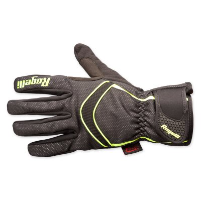 Winter gloves Whitby black yellow handschoen