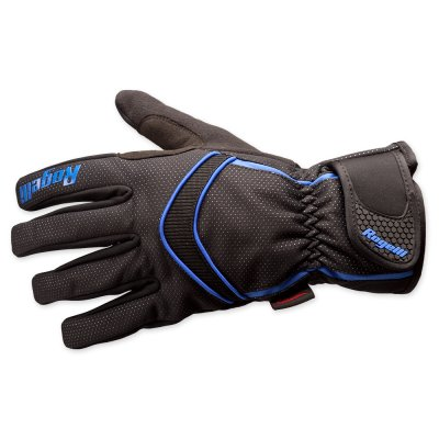 Winter gloves Whitby black blue handschoen
