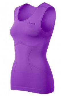Dames Singlet Crew Neck Evolution Light 181021 Violet
