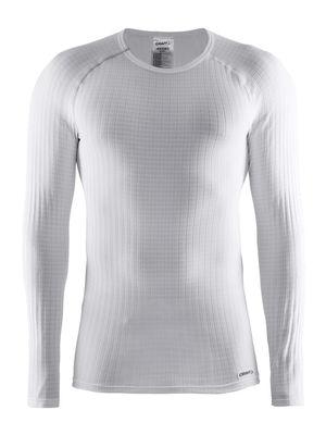 Thermoshirt lange mouw heren wit