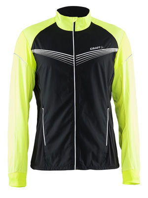 Brilliant Light jacket men Black/Gecko