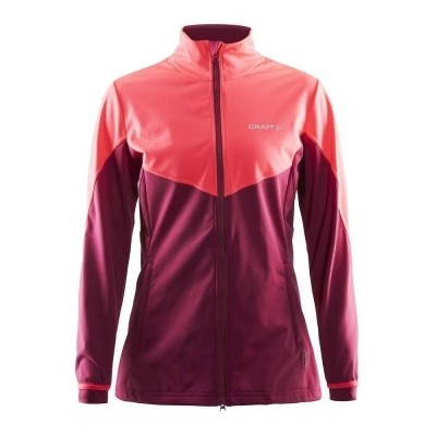 Craft Voyage Jacket Ruby/Crush - Woman