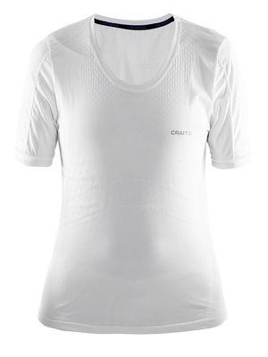 Cool Seamless Short Sleeve Tee Women White