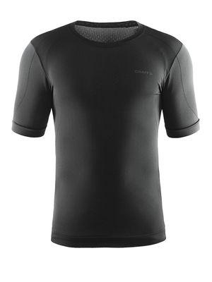 Cool Seamless Short Sleeve Tee Men Black