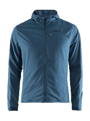 Urban Hood Run Jacket Men Fjord