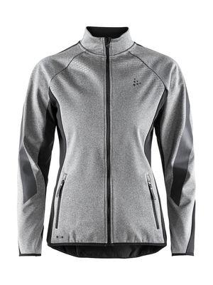 Sharp Softshell Jacket Women Melange/Black