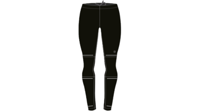 Men's Lite-show running tights [performance black]