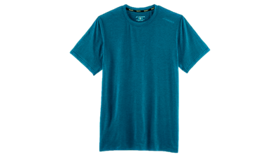 Distance short sleeve heather river
