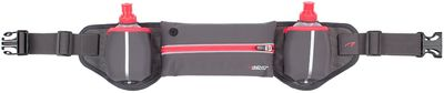 Hardloopbelt met 2 drinkflessen Roze Fluor