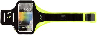 Smartphone Armband 21PO Zwart/Fluor Geel