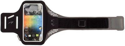 Smartphone Armband 21PO Zwart/Grijs Zwart
