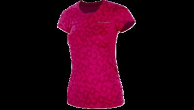 Women's Equilibrium II short sleeve [fuchsia/digiprint]