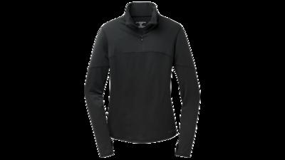 Women's Essential long sleeve 1/2 zip III [black]