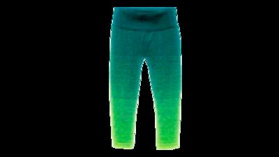 Women's Streaker Capri [nightlife/kale]