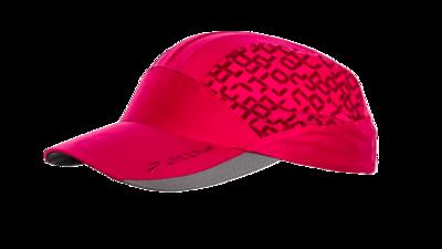 Women's Mesh run hat [fuchsia/digiprint]