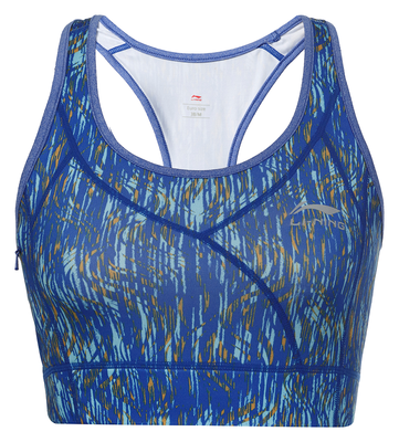 Summer Sport Bra Top Blauw