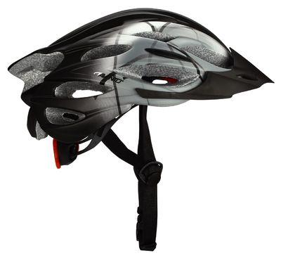 Fiets Helm Zwart/Grijs