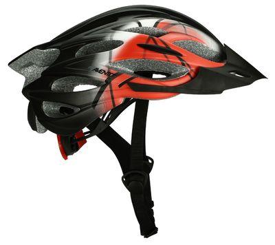 Fiets Helm Zwart/Rood