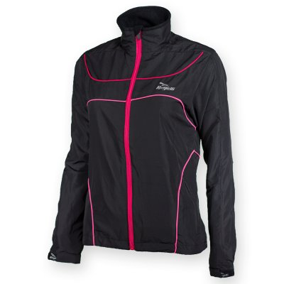 Runningjacket Madu Black Red Pink Dames