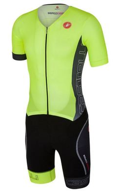 Sanremo Tri Suit SS Yellow