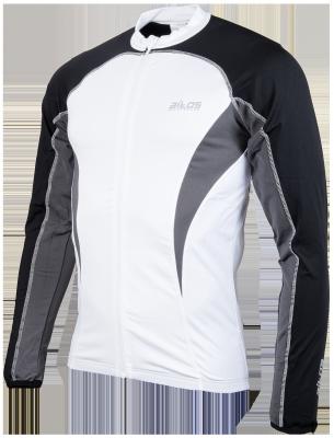 fietsshirt Springs white