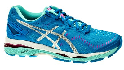 Kayano 23 diva-blue/silver/aqua-splash