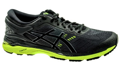 Kayano 24 black/green gecko