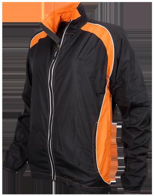 Vest Running Homme noir/orange