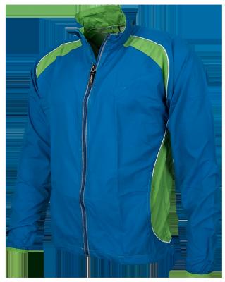 Course jacket bleu