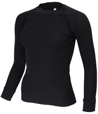 Thermoshirt  Dames Zwart of  Marine(lange mouw) 721