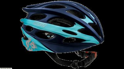 Inline skate helmet matt darkblue/lightblue